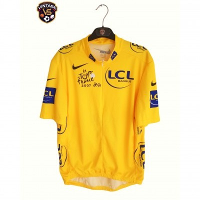"Tour de France 2007 Cycling Yellow Shirt Jersey (XL) ""Perfect"""