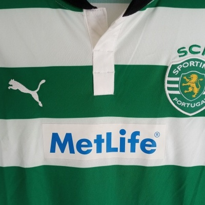 """Sporting CP Home Shirt 2012-2013 (L Youths) """"Very Good"""""""