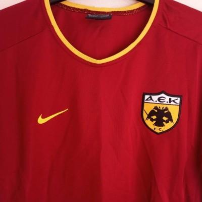 """AEK Athens Away Shirt 2002-2004 (S) """"Perfect"""""""