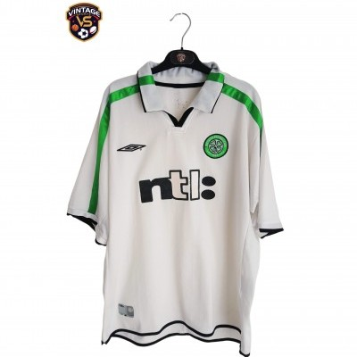 "Celtic Glasgow FC Away Shirt 2001-2002 (XL) ""Good"""