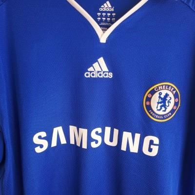 "Chelsea FC Home Shirt 2008-2009 #20 Deco (XL) ""Good"""