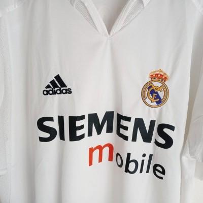 "Real Madrid Home Shirt 2004-2005 #9 Ronaldo (L) ""Very Good"""