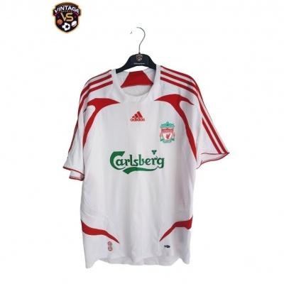 """Liverpool FC Away Shirt 2007-2008 #23 Carragher (M) """"Very Good"""""""