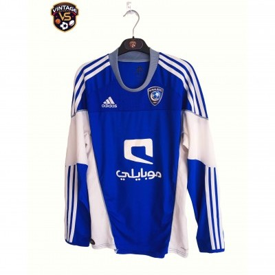 "Al Hilal Club Home Long Sleeve Shirt 2010-2011 (S) ""Perfect"""