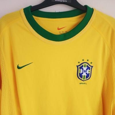 """Brazil Home Shirt 2000 (XL) """"Very Good"""""""