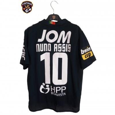 "Matchworn Vitoria Guimarães Away Shirt 2011 #10 Nuno Assis (S) ""Very Good"""