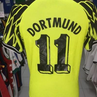 BVB Borussia Dortmund Home Shirt 1994-95 (XS) #11