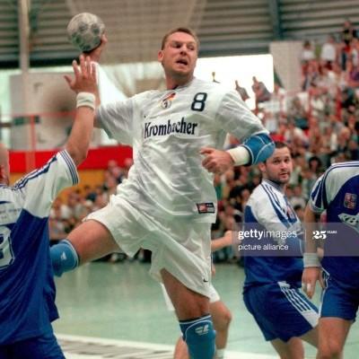 "Matchworn Germany Handball Shirt 1998 #13 (XXL) ""Very Good"""
