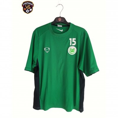 "Issue VFL Wolfsburg Training Shirt #15 (M) ""Very Good"""