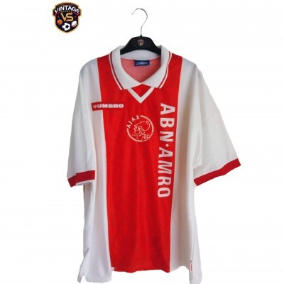 "Ajax Amsterdam Home Shirt 1998-1999 (XL) ""Very Good"""