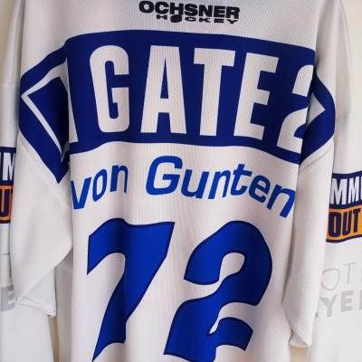 """Kloten Flyers Ice Hockey Jersey 2008 #72 Von Gunten (M) """"Very Good"""""""