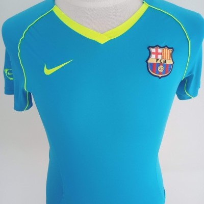 "FC Barcelona Player Issue Shirt 2007 (Womens) ""Perfect Condition"""