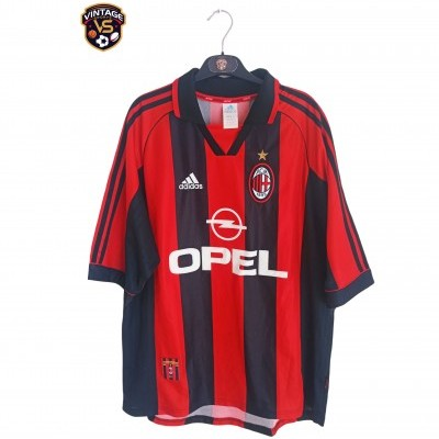 "AC Milan Home Shirt 1998-1999 (XL) ""Very Good"""