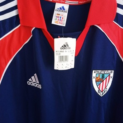 NEW Athletic Bilbao Player Issue Away Shirt 1999-2000 (M)