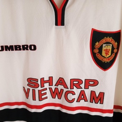 "Manchester United Away Shirt 1997-1999 (XXL) ""Very Good"""
