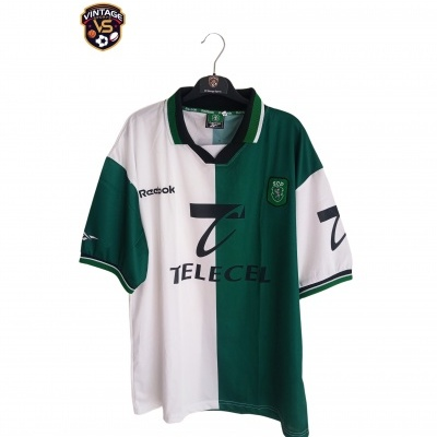 "Sporting CP Third Shirt Stromp 1999-2000 (XL) ""Perfect"""