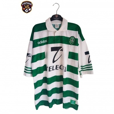 """Sporting CP Home Shirt 1996-1997 (XL) """"Very Good"""""""