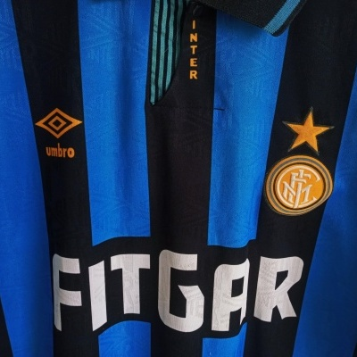 "Inter Milan Home Shirt 1991-1992 (XL) ""Good"""