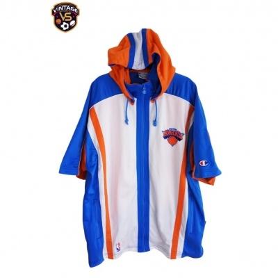 "New York Knicks NBA Warm Up Jacket (L) ""Very Good"""