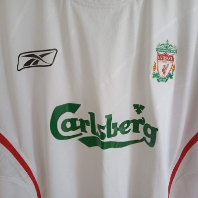 "Liverpool FC Away Shirt 2005-2006 (XL) ""Good"""