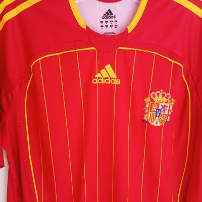 "Spain Home Shirt 2005-2007 #9 Torres (M) ""Good"""