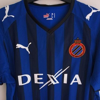 "Club Brugge Home Shirt 2008-2009 (S) ""Perfect"""