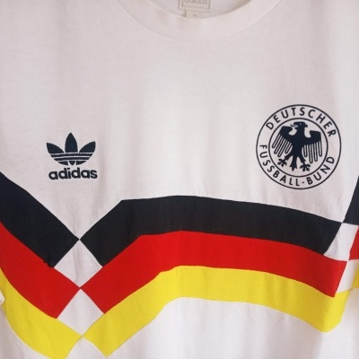 "Germany Home Shirt 1990 Adidas Originals (M) ""Very Good"""
