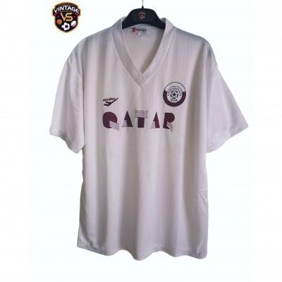 "Qatar Football Home Shirt 1990s (XL) ""Very Good"""