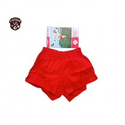 NEW Vintage Shorts KKS Uwe Seeler 1980s Red (M)