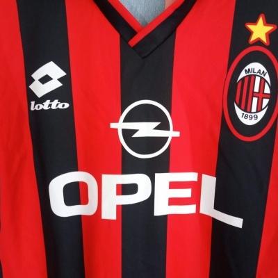 """AC Milan Home Shirt 1995-1996 (XL Youths) """"Very Good"""""""