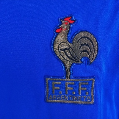 "France Home Shirt 1978 World Cup (XS) ""Good"""