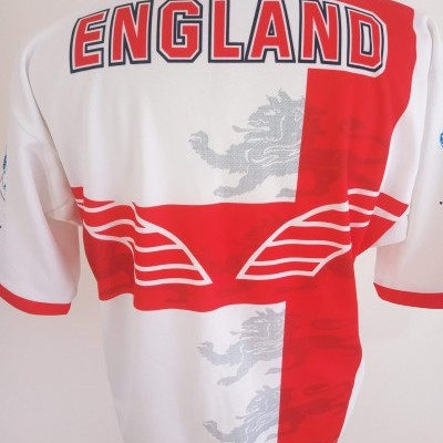 """England Rugby League Home Shirt 1995 (M) """"Very Good"""""""
