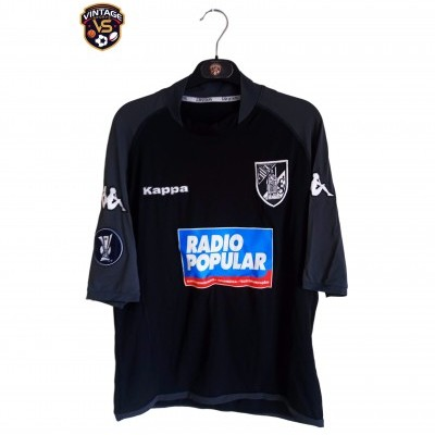 "Matchworn Vitoria Guimarães Uefa Shirt 2005 #22 Manoel (XL) ""Very Good"""