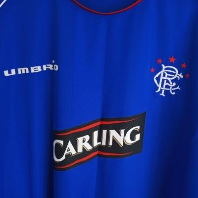 "Glasgow Rangers FC Home Shirt 2005-2006 (5XL) ""Very Good"""