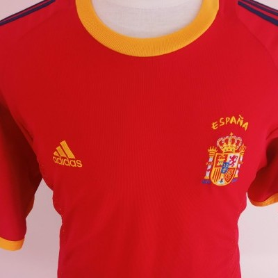 "Spain Home Shirt 2002-2004 (XL) ""Very Good"""