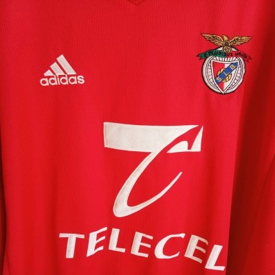 "SL Benfica Home Shirt 1998-1999 (XL) ""Very Good"""