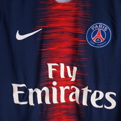 NEW Paris SG PSG Home Shirt Player Issue 2018-2019 (S)