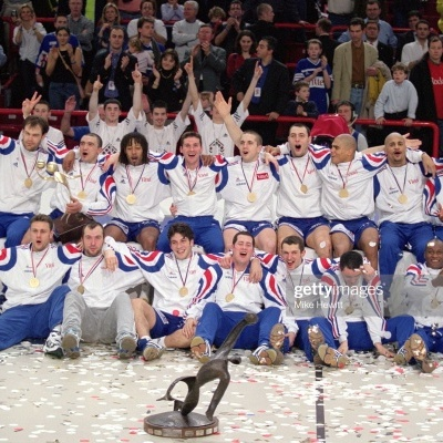"France Handball Shirt 2001 World Champions (S) ""Good"""