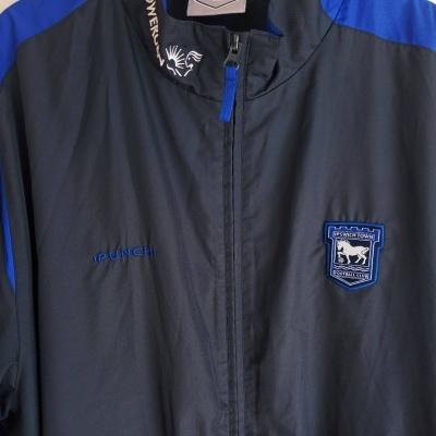 "Ipswich Town FC Jacket 2000s (XXL) ""Very Good"""