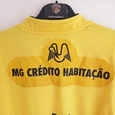 "Matchworn Boavista FC Away Shirt 2004-2005 #4 (L) ""Good"""