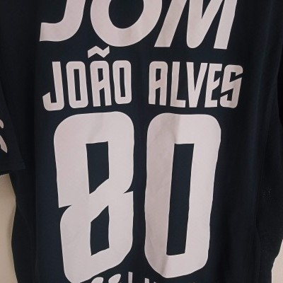 "Matchworn Vitoria Guimarães Away Shirt 2011 #80 Joao Alves (S) ""Very Good"""