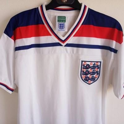 """Retro England Home Shirt 1982 (S) """"Very Good"""""""