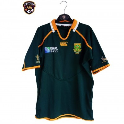 "South Africa Rugby Home Shirt 2011 (L) ""Perfect"""