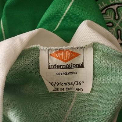 "Celtic Glasgow FC Third Shirt 1982-1983 (S) ""Very Good"""