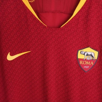 "AS Roma Home Shirt Player Version 2018-2019 (L) ""Perfect"""