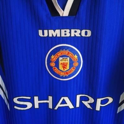 "Manchester United Third Shirt 1996-1997 (M) ""Very Good"""