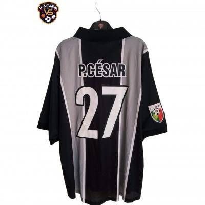 """Matchworn Vitoria Guimarães Away Shirt 2001 #27 Paulo Cesar (XL) """"Good"""""""