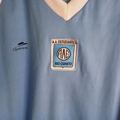 "Estudiantes Rio Cuarto Home Shirt 2005 Pablo Aimar (Youths) ""Very Good"""
