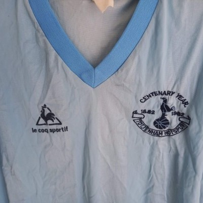 "Tottenham Hotspurs Centenary Away Shirt 1982-1983 (M) ""Good"""