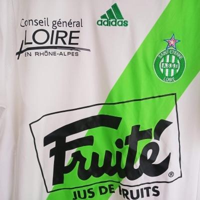 """ASSE Saint Etienne Away Shirt 2009-2010 (M) """"Very Good"""""""